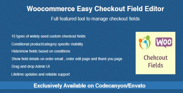 Checkout Field Editor for WooCommerce v3.1.6