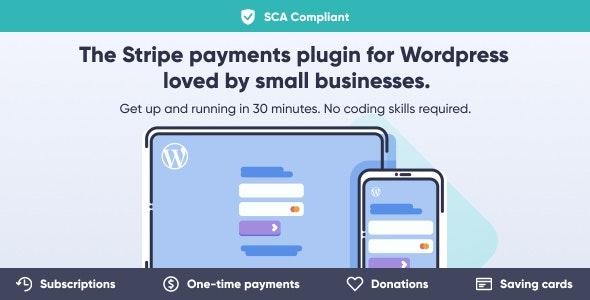 WP Full Stripe v5.5.5 - Subscription and Payment Plugin for WordPress